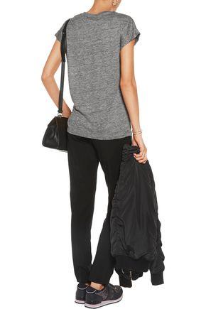 DKNY Slub linen-jersey T-shirt
