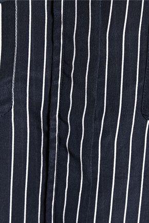 EQUIPMENT Lynn striped washed-silk shirt