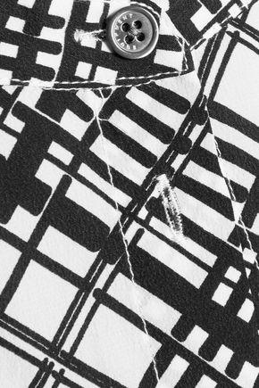 EQUIPMENT Henri printed washed-silk shirt