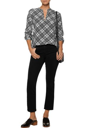EQUIPMENT FEMME Henri printed washed-silk shirt