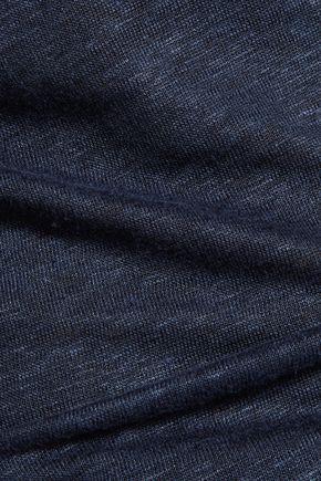 IRIS AND INK Linen-jersey T-shirt
