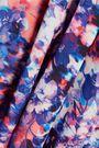 REBECCA MINKOFF Gabby cutout ruffled floral-print crepe de chine blouse