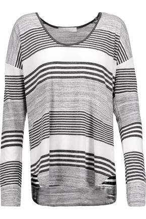 KAIN Imogen striped stretch-jersey top