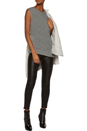 KAIN LABEL Vernon ruched modal and silk-blend tank