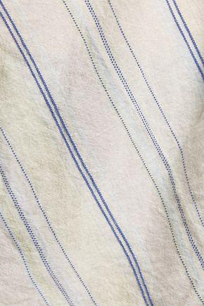 EQUIPMENT Elsie striped cotton top