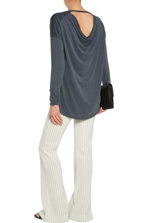 TART COLLECTIONS Coco cutout stretch-jersey top