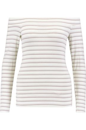 TART Eira off-the-shoulder ribbed jersey top