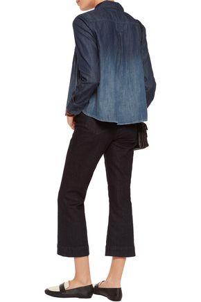 CURRENT/ELLIOTT The Lucy Tuck denim shirt
