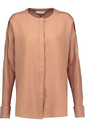 TIBI Winston wool shirt