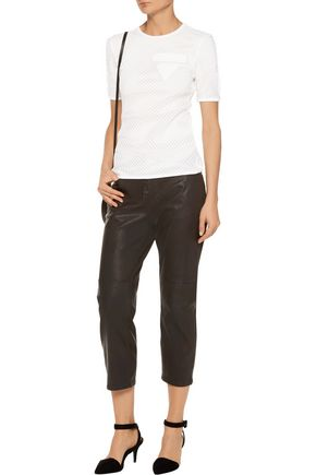 ALEXANDER WANG Cotton and modal-blend T-shirt