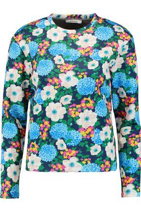 CARVEN Printed neoprene sweatshirt