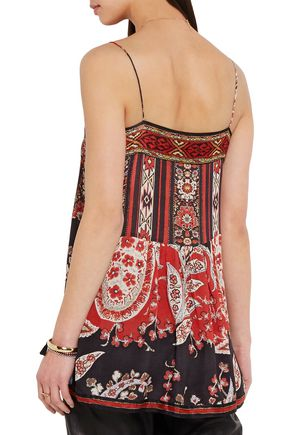 ISABEL MARANT ÉTOILE Tybalt printed crepe camisole