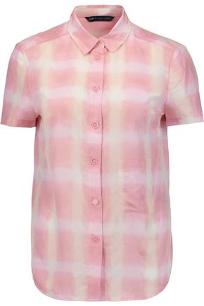 MARC BY MARC JACOBS Printed cotton and silk-blend shirt