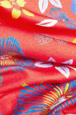 SUNO Printed cotton T-shirt