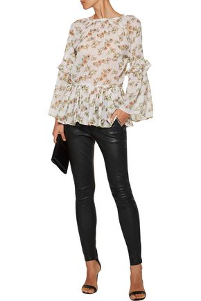 W118 by WALTER BAKER Printed chiffon top