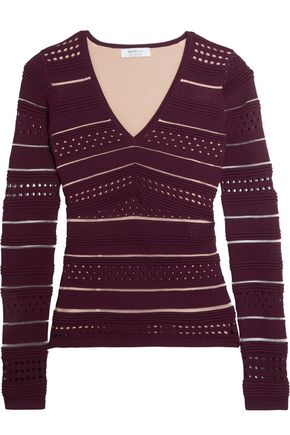 BAILEY 44 Niki pointelle-knit sweater