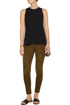 THEORY Parieom stretch-jersey top