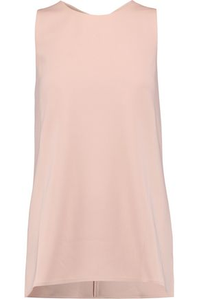 THEORY Parieom crepe top
