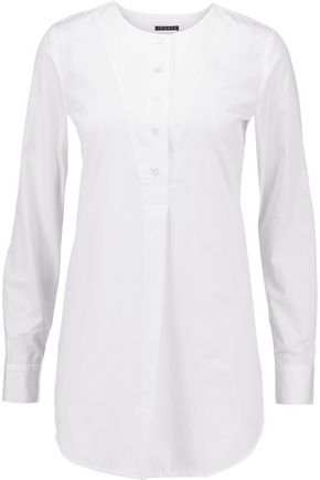 THEORY Cotton-poplin top