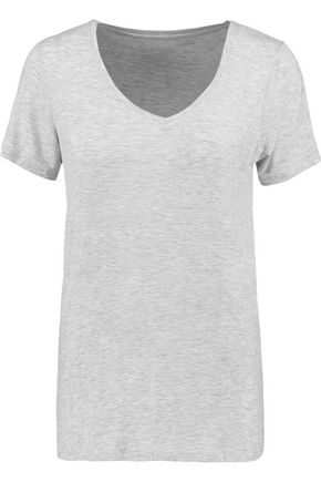 MAJESTIC Washed stretch-jersey T-shirt