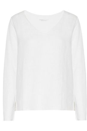 MAJESTIC Linen and cotton top