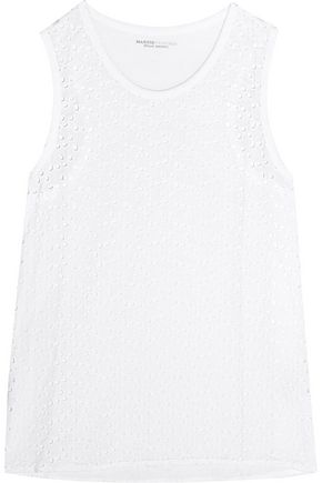 MAJESTIC Broderie anglaise cotton top