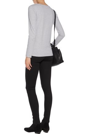 MAJESTIC Cotton-jersey top
