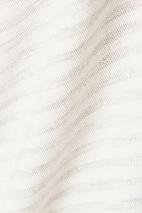 MAJESTIC Striped jersey T-shirt