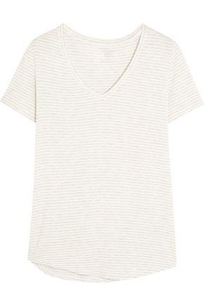 MAJESTIC FILATURES Striped jersey T-shirt