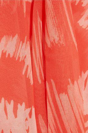 HEIDI KLEIN Cutout printed chiffon kaftan