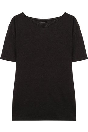 BY MALENE BIRGER Slub linen T-shirt