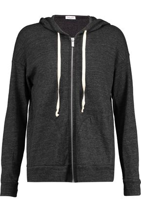 SPLENDID Stretch-jersey hooded top