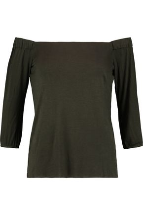 BAILEY 44 Off-the-shoulder stretch-jersey top