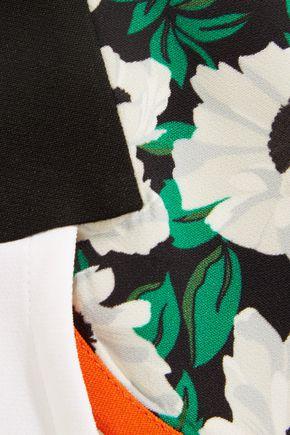 STELLA McCARTNEY Kristele floral-print crepe shorts
