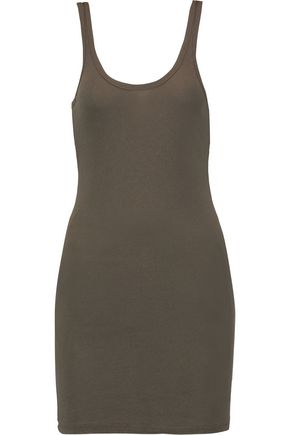 JAMES PERSE Cotton-blend long tank