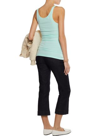JAMES PERSE Ribbed stretch-Supima cotton tank