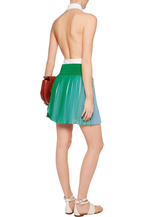 Amandine pleated wrap-effect crepe shorts | STELLA McCARTNEY | Sale up to  70% off | THE OUTNET