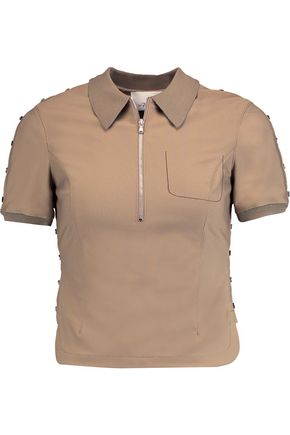 3.1 PHILLIP LIM Stretch-jersey polo shirt