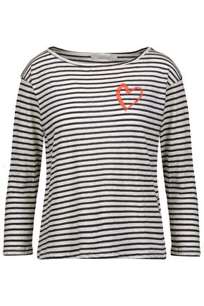 KAIN Amelia striped stretch-modal top
