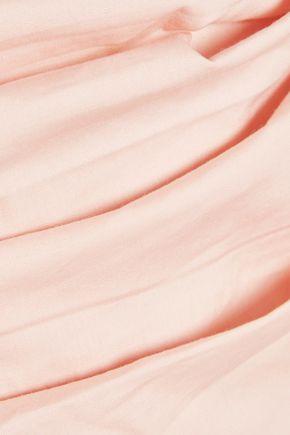 W118 by WALTER BAKER Randall one-shoulder cotton-poplin top