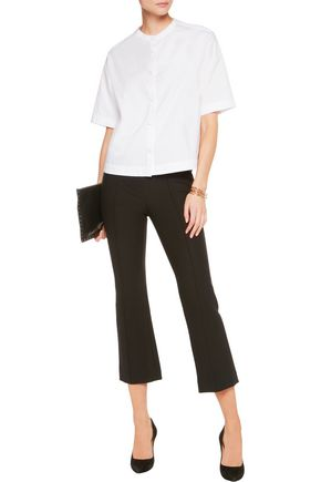 MAJE Cotton-poplin blouse