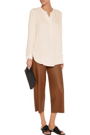 THEORY Orvinio Classic silk-crepe top
