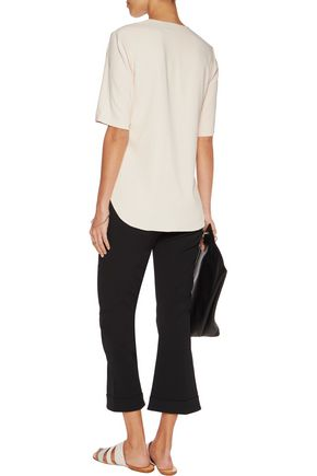 THEORY Antazie crepe top