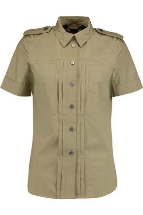 MARC BY MARC JACOBS Cotton-blend shirt