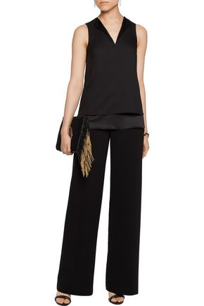 MICHAEL MICHAEL KORS Layered crepe top