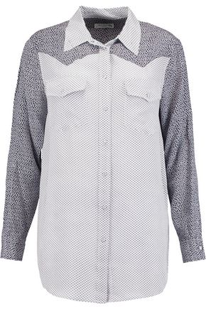 EQUIPMENT Reid printed silk shirt