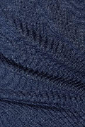 SPLENDID Layered stretch-jersey top