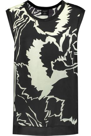 RAG & BONE Anita printed silk top