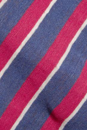 IRO Sooka striped linen-jersey T-shirt