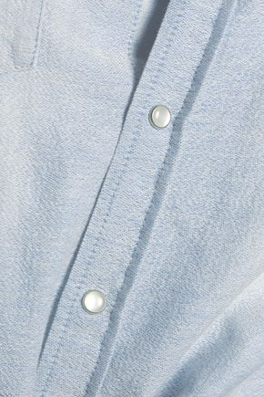 IRO Batna cotton-chambray shirt